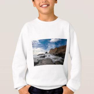 Haystack Rock at Cape Kiwanda Oregon coast USA Sweatshirt