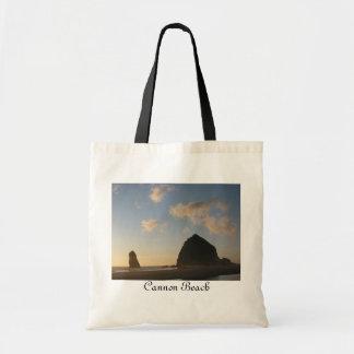 Haystack Rock, Cannon Beach Budget Tote Bag