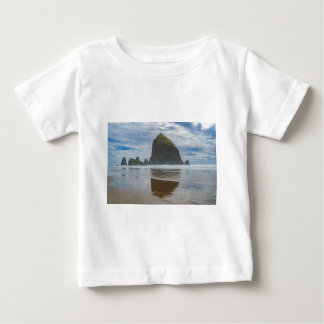Haystack Rock, Cannon Beach, Oregon Baby T-Shirt