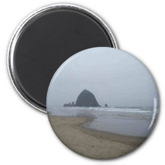 Haystack Rock, Cannon Beach, Oregon Magnet