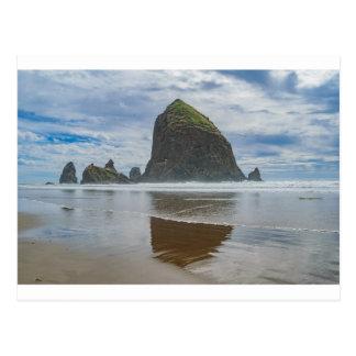 Haystack Rock, Cannon Beach, Oregon Postcard