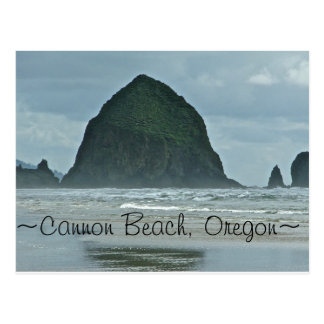 Haystack Rock, Cannon Beach Oregon Postcard