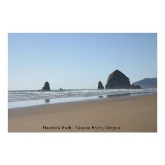 Haystack Rock - Cannon Beach, Oregon Poster
