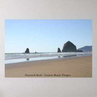 Haystack Rock - Cannon Beach, Oregon Print