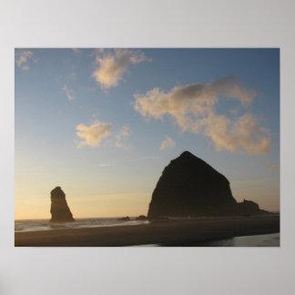 Haystack Rock, Cannon Beach Poster