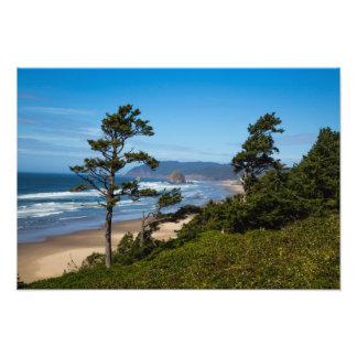 Haystack Rock Oregon Photo Print