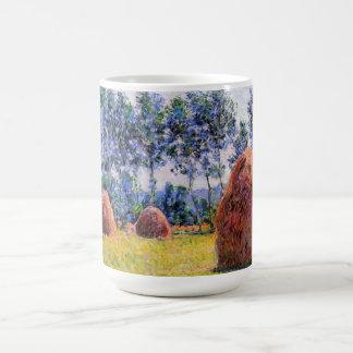 Haystacks at Giverny - Claude Monet Coffee Mug