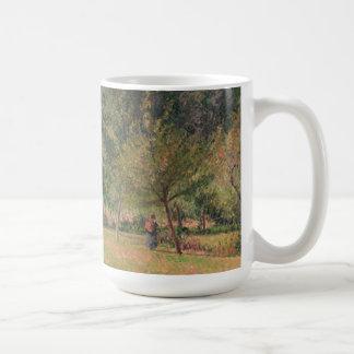 Haystacks, Morning, Eragny Coffee Mug