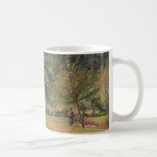 Haystacks, Morning, Eragny Coffee Mug