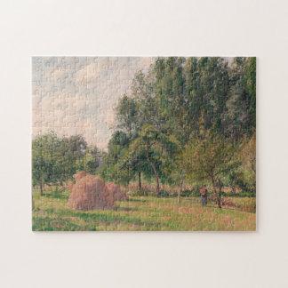 Haystacks, Morning, Eragny Jigsaw Puzzle