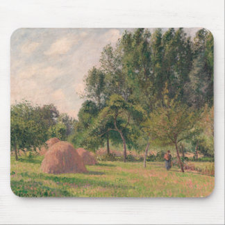 Haystacks, Morning, Eragny Mouse Pad