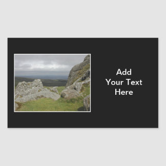 Haytor. Rocks in Devon England.