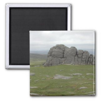 Haytor. Rocks in Devon England. Magnet