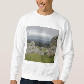 Haytor. Rocks in Devon England. Sweatshirt