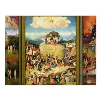 Haywain, 1515 postcard