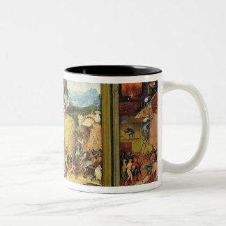 Haywain, 1515 Two-Tone coffee mug