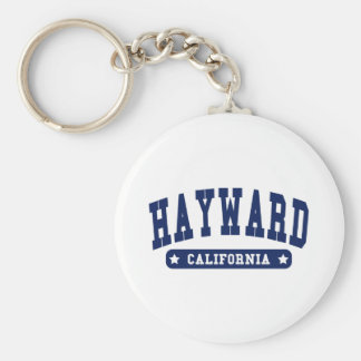 Hayward California College Style tee shirts Keychain
