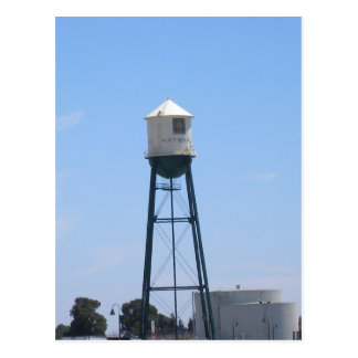 Hayward Water Tower Postcard