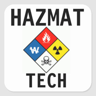 Haz Mat Tech stickers