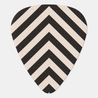 Hazard Stripes Guitar Pick