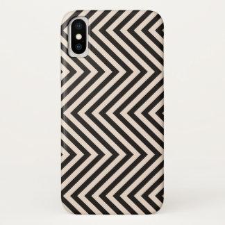 Hazard Stripes iPhone X Case
