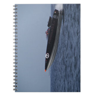 Hazards Of Powerboat Racing Spiral Note Book
