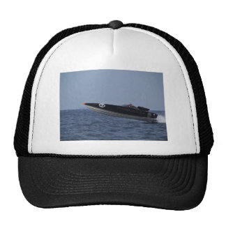 Hazards Of Powerboat Racing Trucker Hat