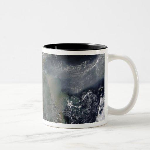 Haze across the North China Plain Coffee Mugs