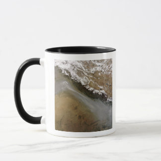 Haze along the Himalaya Mountains Mug