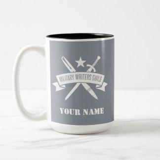 Haze Gray 15 oz. custom MWG mug