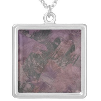 Haze II Silver Plated Necklace