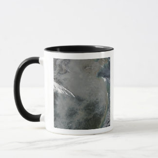 Haze over eastern China Mug