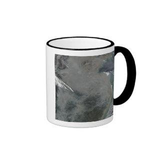 Haze over eastern China Coffee Mugs