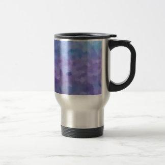 Hazed and Phased Purple Painting 15 Oz Stainless Steel Travel Mug
