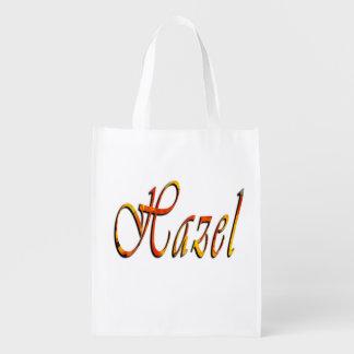 Hazel, Name, Logo, Girls Library Kindy Bag