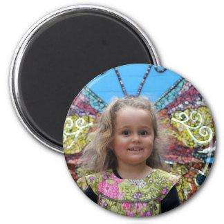 Hazel S Butterfly Magnet