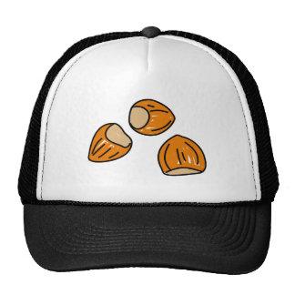 hazelnuts trucker hat