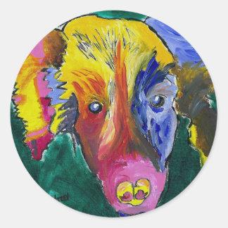 Hazels's Sheet of Pooch Stickers