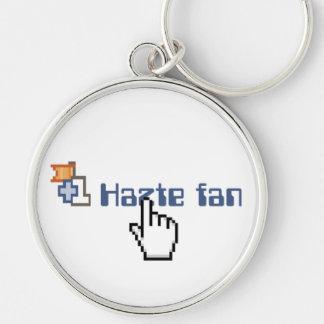 Hazte Fan Key Chain