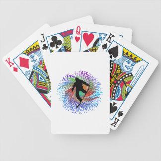 Hazy Daze Bicycle Playing Cards
