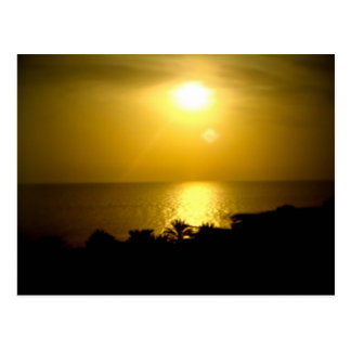 Hazy Sun Postcard