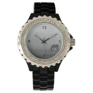 Hazzy Grazing Grayscale Watch