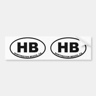 HB Huntington Beach Bumper Sticker