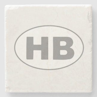 HB Oval Stone Coaster