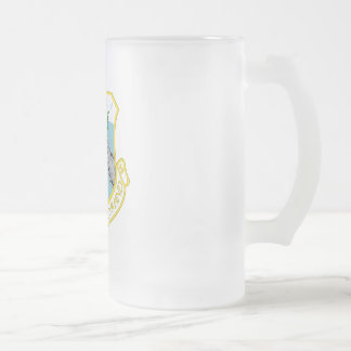 HB SAC FROSTED GLASS BEER MUG