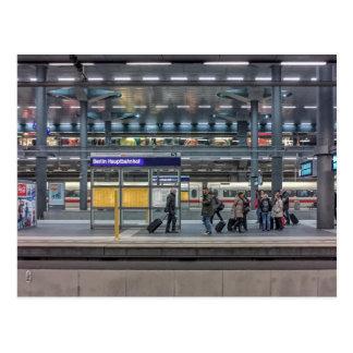 Hbf, Station, Berlin, Germany Postcard