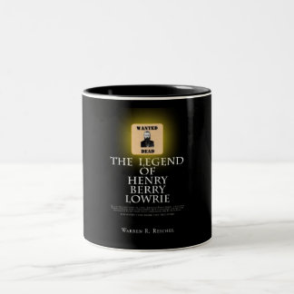 HBL - Coffee Mug - Book Cover - Blk on Blk
