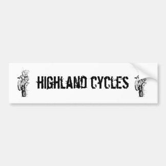 HC bagpiper sticker