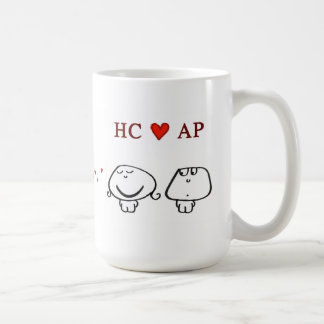 """HC heart AP"" Coffee Mug"