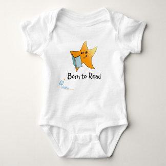 HCPL Born to Read Baby Bodysuit
